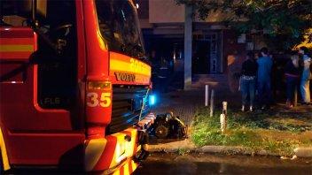 Por un principio de incendio, evacuaron un edificio en el centro de Paraná