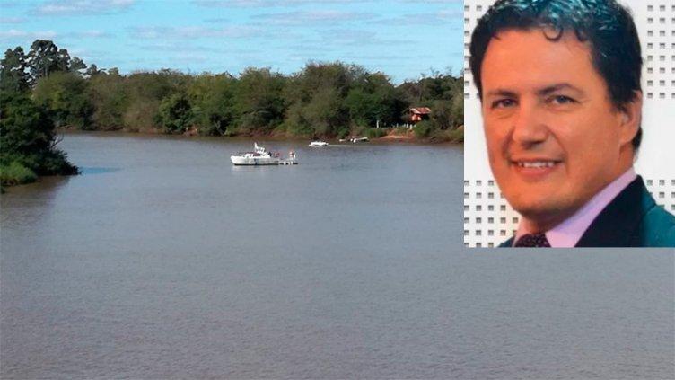 Hallaron sin vida al periodista que era intensamente buscado en el río Uruguay