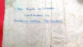 37 años después de la muerte de su hijo, recibió la única carta que le escribió