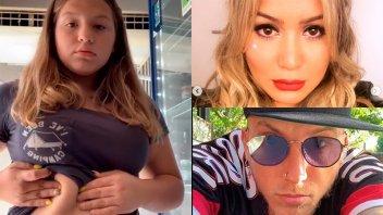 Video de la hija de Karina La Princesita y El Polaco por los ataques que recibe