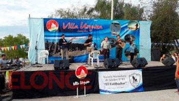 Se realizó en Villa Urquiza, la primera edición de la Fiesta del Pescado Frito