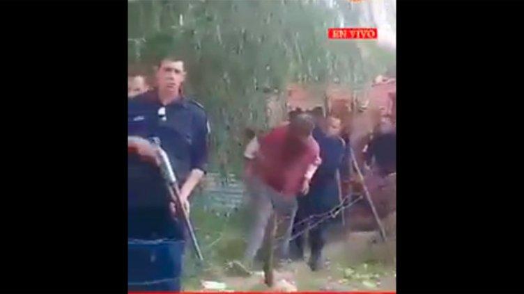 Tensión en un asentamiento: Quisieron linchar a un sujeto sospechado de abusos