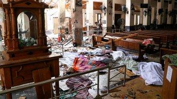Aclaran que no hay argentinos entre las víctimas por explosiones en Sri Lanka