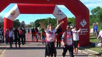 Familia Bercomat realizó una maratón a beneficio de Fundación Crisálida
