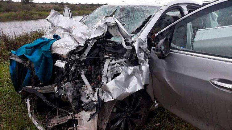Tragedia en Santa Fe: Murieron cinco personas en un choque frontal