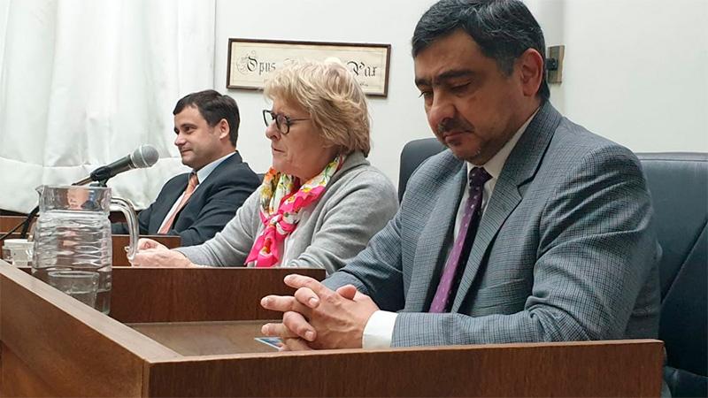 El Tribunal que juzga a Gustavo Rivas