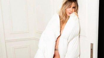Guillermina Valdes  posó desnuda para una revista