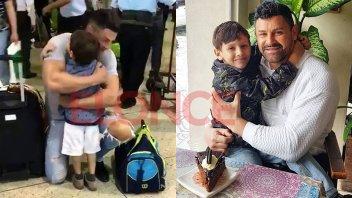 La nueva vida de Aaron: Llegó de Venezuela para vivir con su papá en Paraná