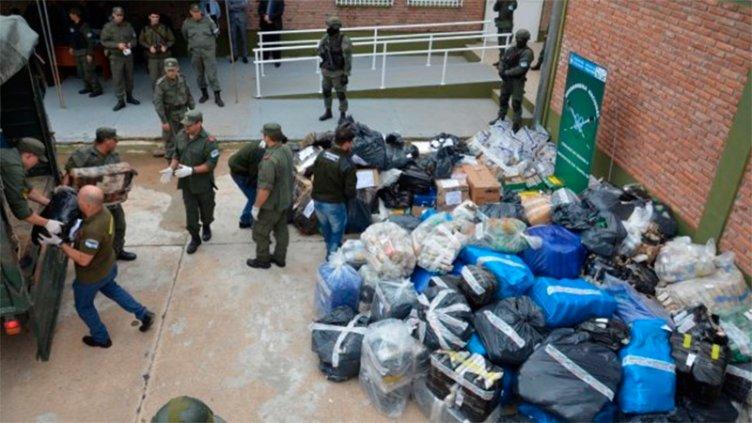 Quemaron más de 9.000 kilos de droga incautados en Entre Ríos y Santa Fe