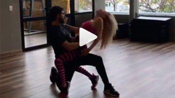 Luciana Salazar compartió un adelanto de un baile muy hot