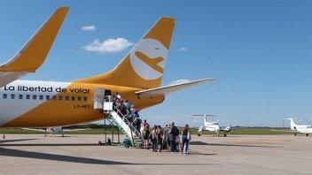 Más de un millón de pasajeros utilizaron vuelos de cabotaje en abril
