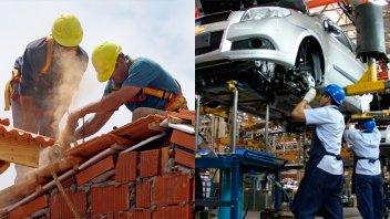 La industria se desplomó 13,4% en marzo y la construcción tuvo una brusca caída