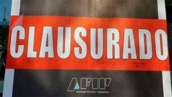 Federación: La AFIP clausuró tres negocios que evadían impuestos