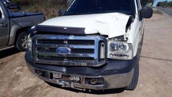 Una yegua murió en la calle luego de ser embestida por una camioneta