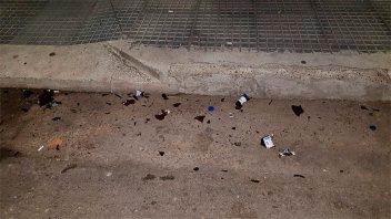 Se pelearon varios jóvenes y uno terminó herido de un botellazo