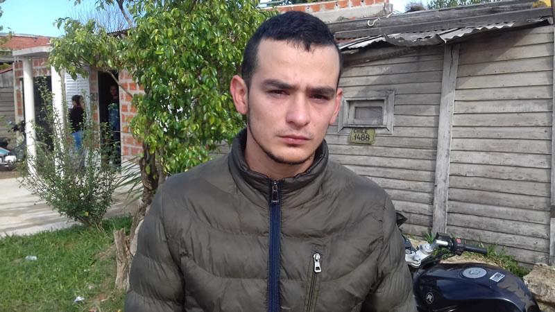 El hermano de Alexis Taborda
