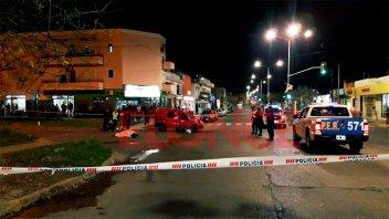 Motociclista falleció tras ser arrollado por un colectivo