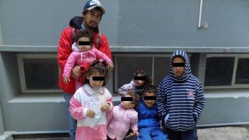 Padre de seis hijos está desesperado: