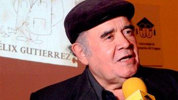 Pesar en el teatro entrerriano por la muerte del actor Félix Gutiérrez