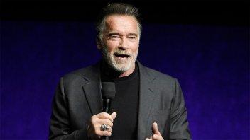 Video: Atacaron a Arnold Schwarzenegger durante un evento