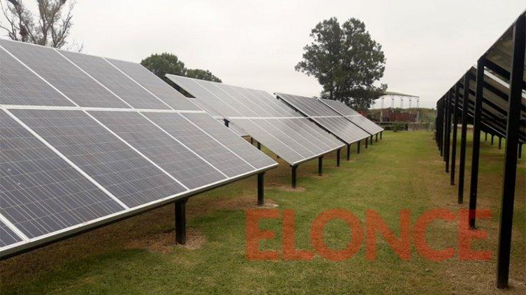 Tambo entrerriano instaló paneles solares para ser