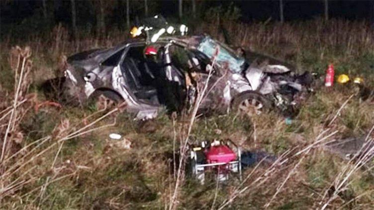 Una joven perdió la vida tras el despiste y vuelco de un auto