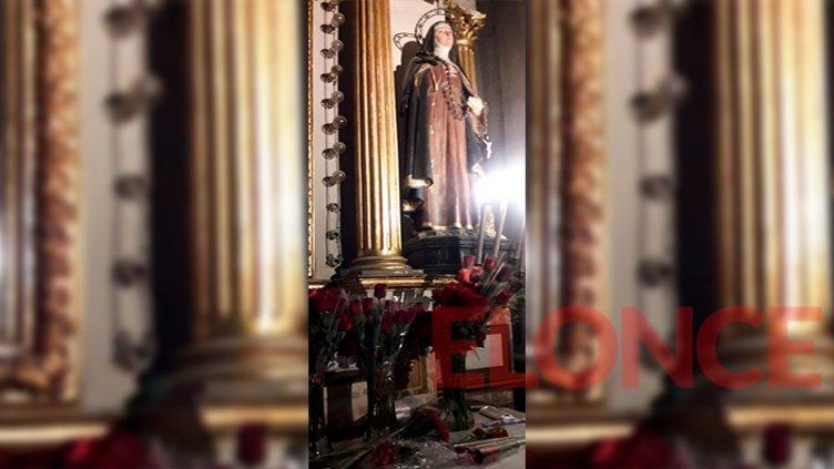 Devotos de Santa Rita donaron pañales al voluntariado del hospital San Roque