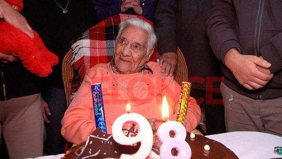 María Salomé celebró sus 98 años: