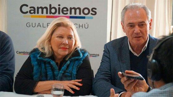 Carrió estuvo en Gualeguaychú, en apoyo a Benedetti