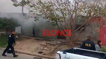Incendiaron la casa del menor que habría baleado a un joven en la cabeza
