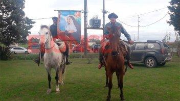 Fieles participaron de fiesta patronal de Santa Rita,