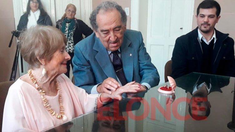 Gladys y Felipe dieron el Sí: Aseguran amarse