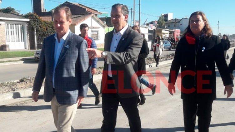 Bordet y Bahl habilitaron las colectoras del Acceso Sur a Paraná