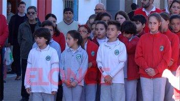 Festejos de la comunidad italiana en Paraná