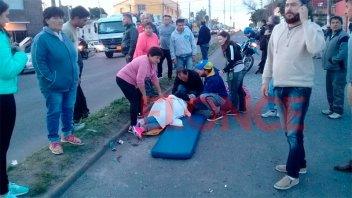 Choque y vuelco de ambulancia: el estado de salud de los lesionados