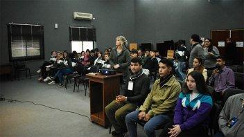 CAFESG capacita a estudiantes secundarios en Seguridad e Higiene