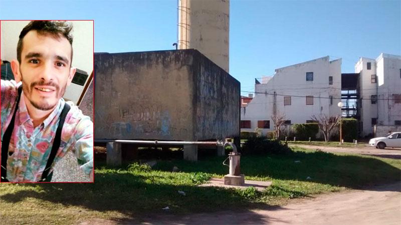 El Sector 1 del barrio 338 donde ocurrió el hecho de sangre.-