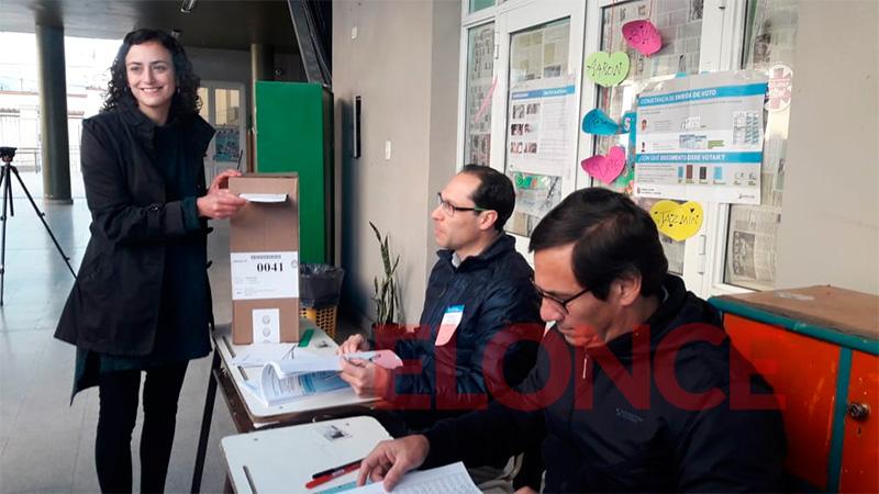 El voto de Nadia Burgos