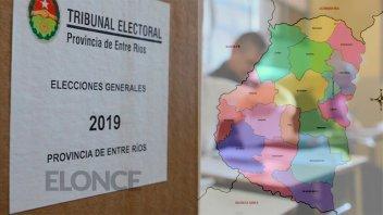 Elecciones: Resultados para intendente en las localidades de Paraná campaña