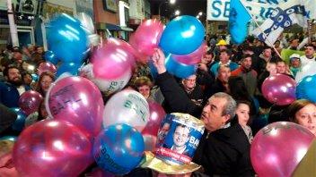 Fotos y video: Los festejos en el búnker de Adán Bahl