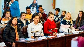 El Concejo Deliberante Estudiantil de Paraná eligió sus autoridades