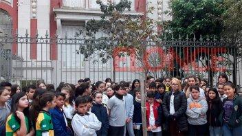 Recordaron a Juan Manuel a cinco años de la tragedia vial frente a la escuela