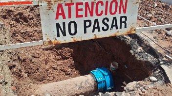 Corte del suministro de agua potable en zona centro por reparación de un caño