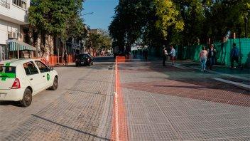 Ocho líneas de colectivos volverán a circular en calle La Paz desde este jueves