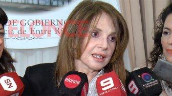 Leonor Benedetto en Paraná: