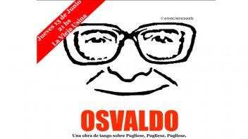Una obra sobre Osvaldo Pugliese se presenta en La Vieja Usina