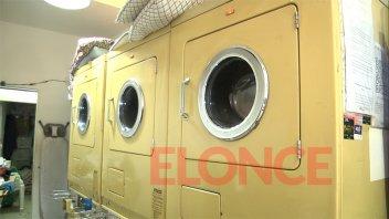 Intensa demanda en lavanderías: