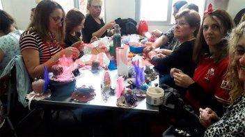 Propuesta de la Escuela María Goretti: realizan muestra de talleres