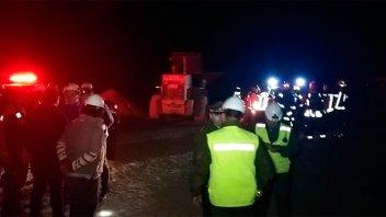 Derrumbe en mina de Chile: Tres personas atrapadas a 70 metros de profundidad