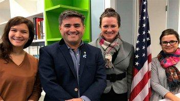 Entre Ríos promocionará becas y programas educativos que ofrece Estados Unidos